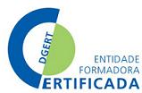Logotipo de certificação DGERT